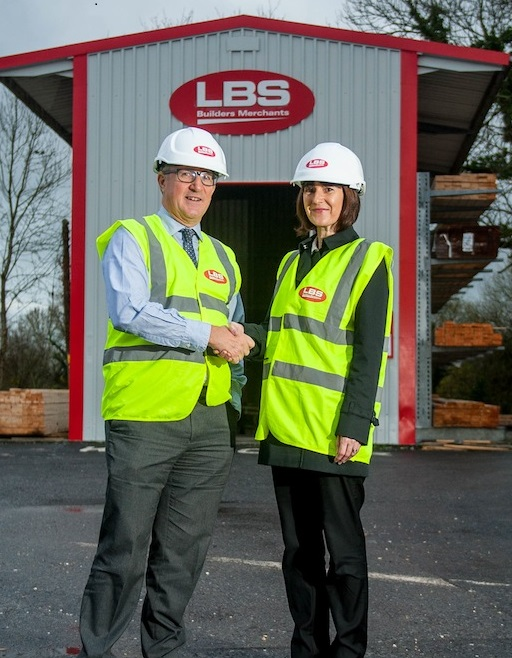 Mark Davies of LBS Builders Merchants