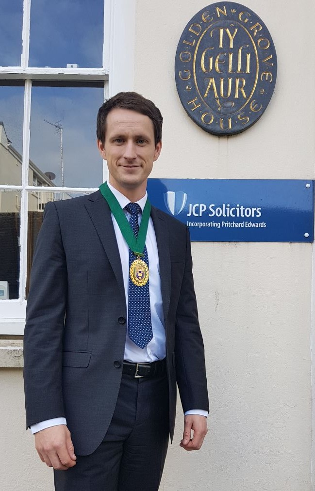 Thomas Rees- West Wales Law Society President