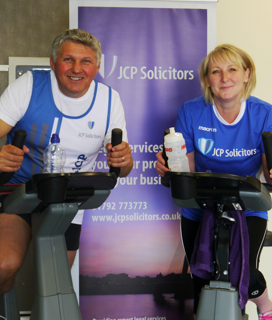 JCP Solicitors spinathon to help raise £800 for Macmillan Cancer Support
