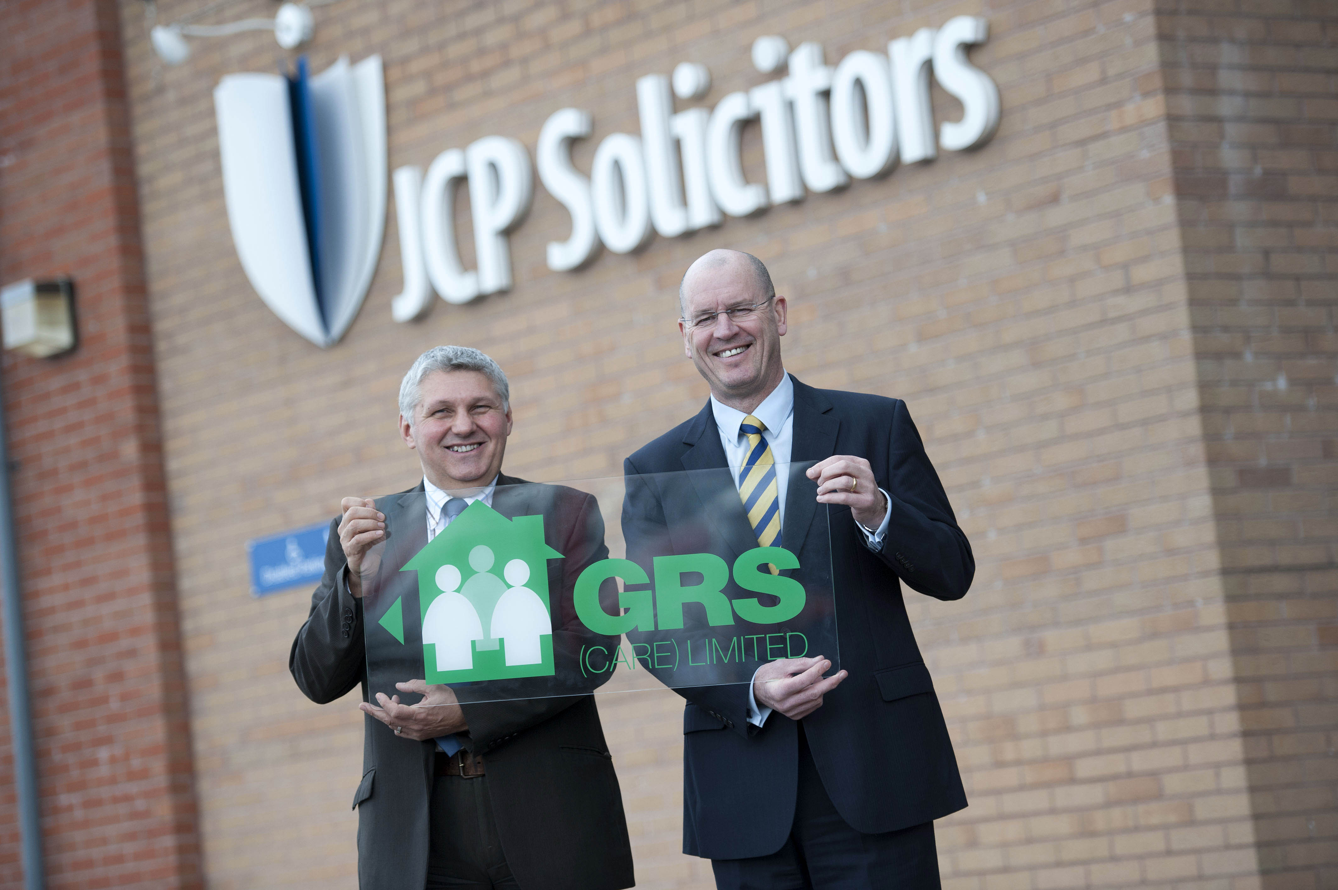 Chris Davies, Director at JCP Solicitors and Dave Howells, Director at GRS Care Ltd.
